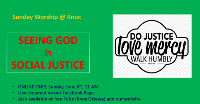 Seeing God in Social Justice