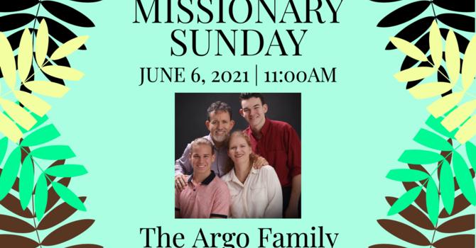 Missionary Sunday-The Argo Family