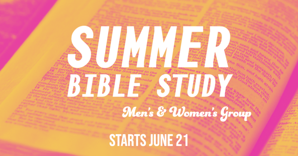 Men's & Women's Bible Study Groups