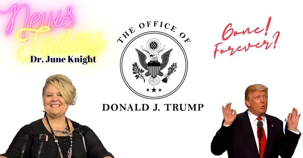 """Trump's Blog Page GONE, """"V"""" Going Door to Door"""