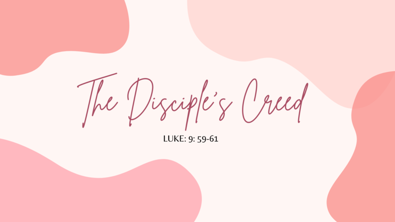 The Disciple's Creed