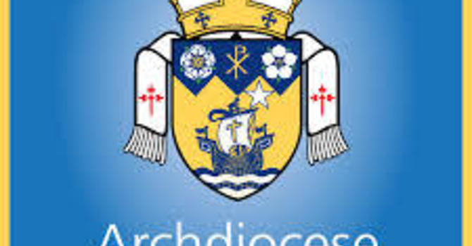 From Archbishop Michael Miller image