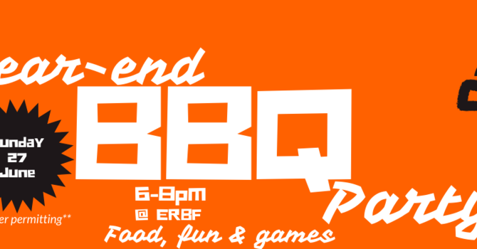 Student Ministries Year-End BBQ Party
