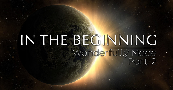 In The Beginning-Wonderfully Made Pt. 2 (2021) | Pastor Rob Rucci