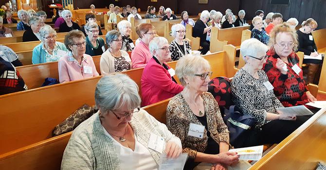 Diocesan ACW executive meets image