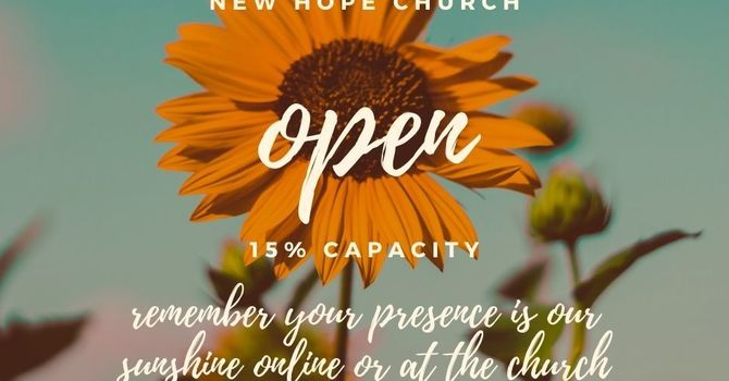 New Hope Church Online or in Person