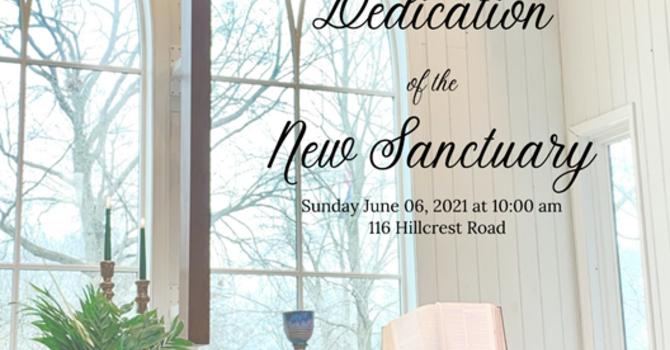Dedication of the New Sanctuary