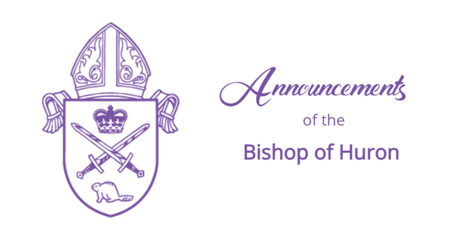 Bishop's Announcements - May 10, 2021