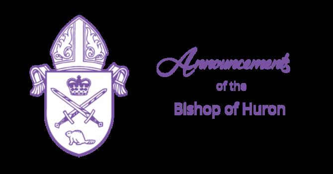 Bishop's Announcements - April 18, 2021