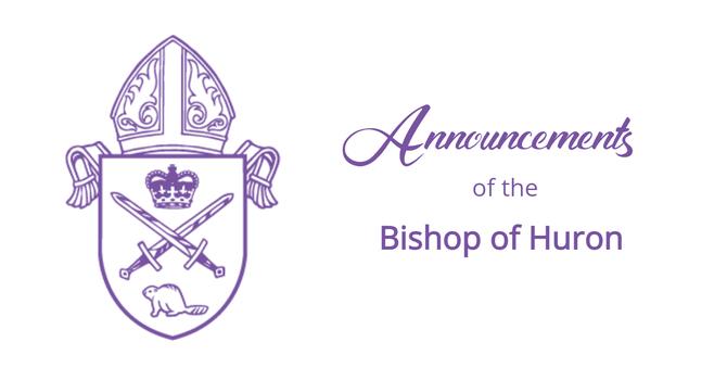 Bishop's Announcements - June 6, 2021 image