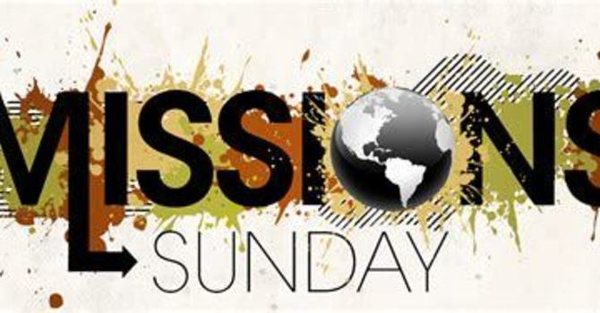 Missions Sunday May 16, 2021