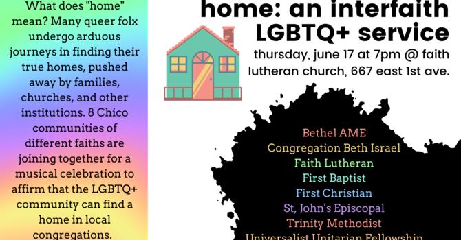 Home: An Interfaith LGBTQ+ Pride Service