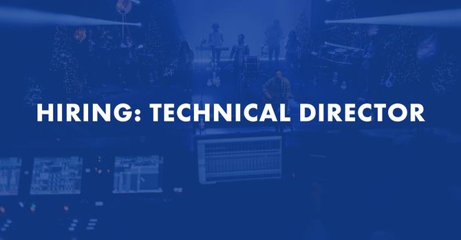 Hiring: Technical Director image