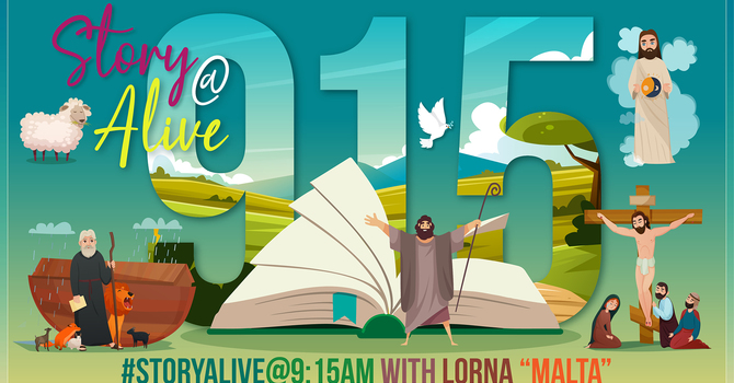 Story Alive @ 9:15am with Lorna