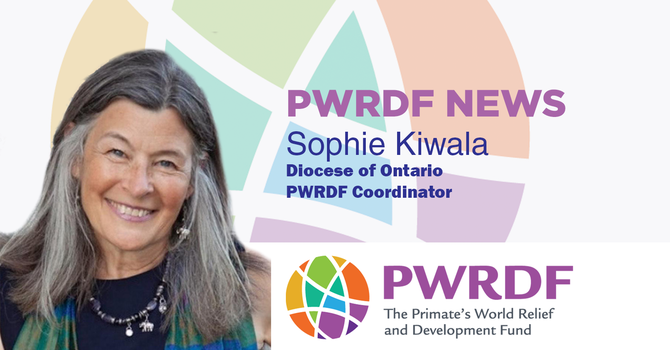 PWRDF news with Sophie image