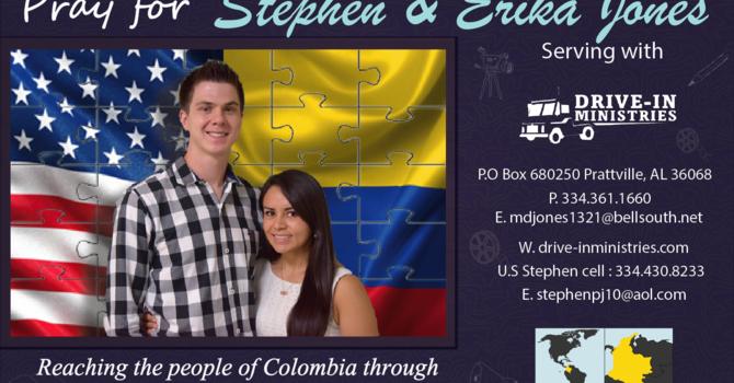 Joneses to Colombia image