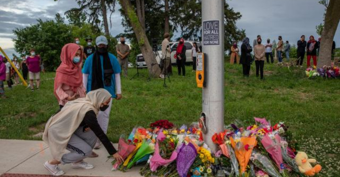 Mourning the Loss of the Muslim Family in London, ON