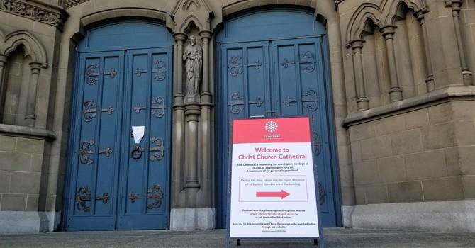 Cathedral Reopening Plan image