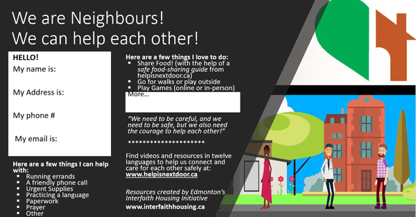 Latest Issue of The Neighbourly