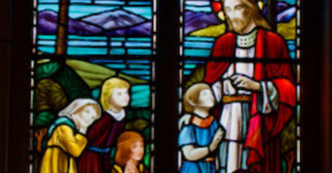 Stained Glass Window (NE corner) image