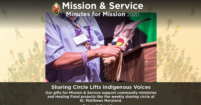 Minute for Mission: Sharing Circle Lifts Indigenous Voices  image