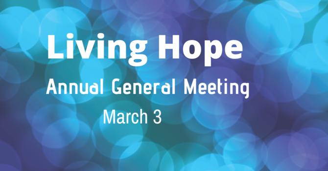 Living Hope General Meeting