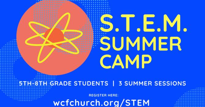 Announcing STEM Summer Camp image