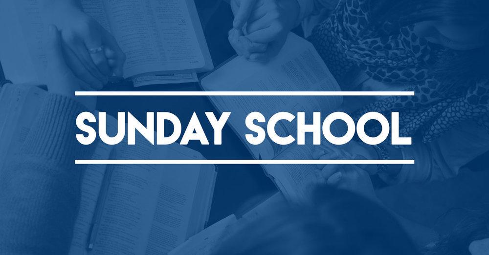 Sunday School Small Group Bible Study
