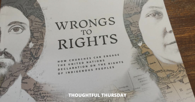 Thoughtful Thursday: Wrongs to Rights Resource image