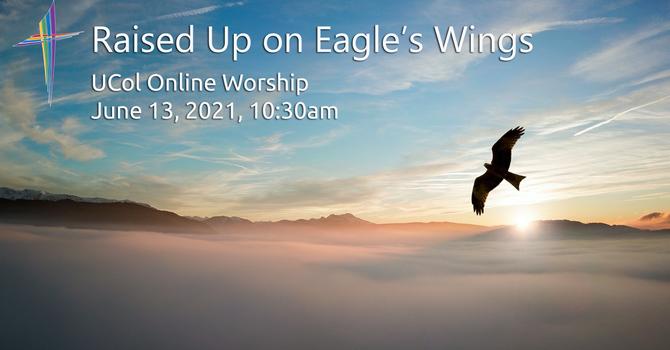 Raised Up on Eagle's Wings