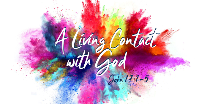 A Living Contact with God