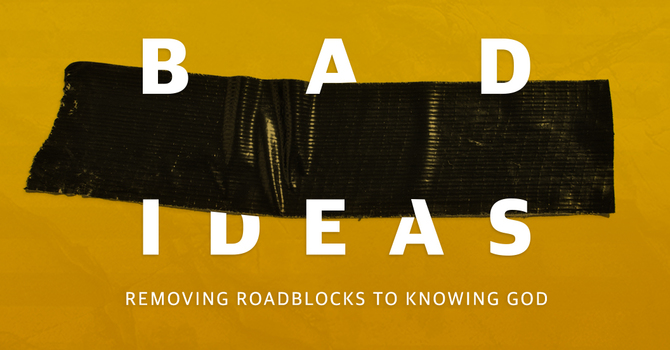"""Week one of our series """"Bad Idea"""""""