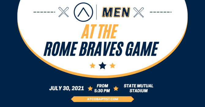 ATCO Men at the Rome Braves Game