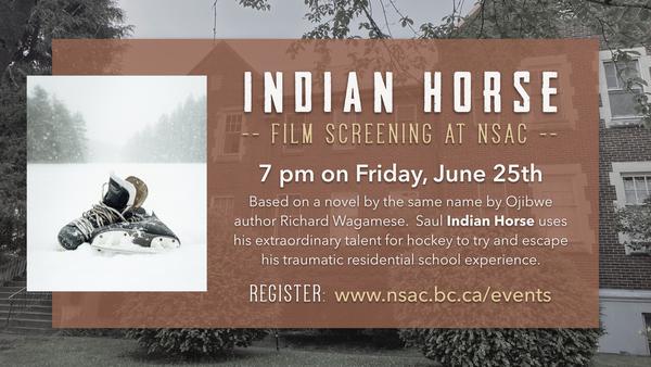 Indian Horse Film Screening