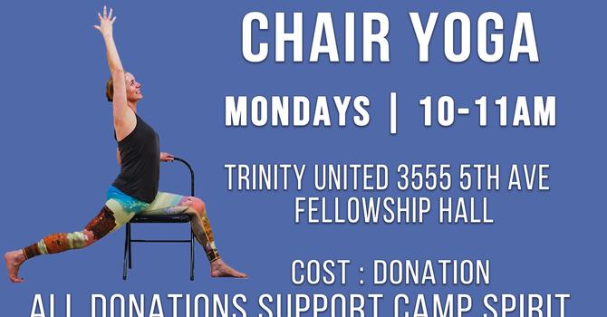 Chair Yoga Returns!