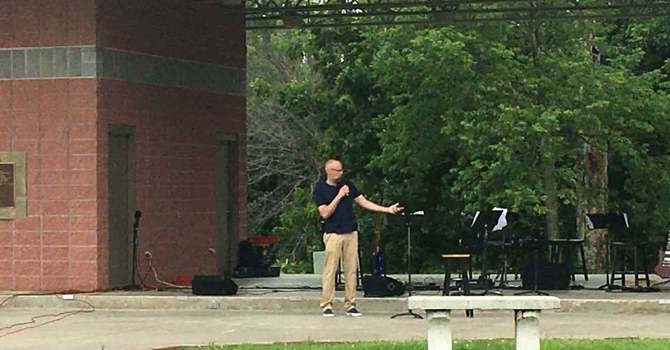 Great Time at Church In the Park image