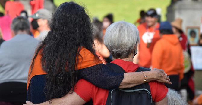 Valley Vigils Held to Honour the 215 image