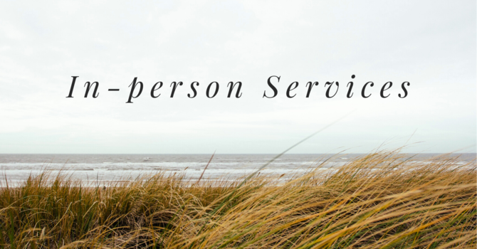 In-Person Sunday Services