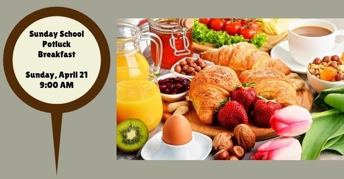 Sunday School Potluck Breakfast
