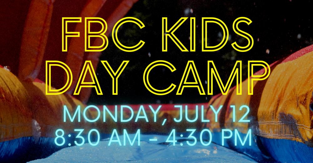 FBC Kids Day Camp