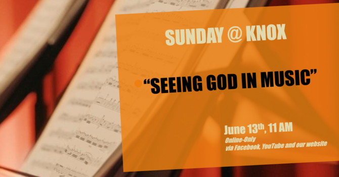 Seeing God in Music