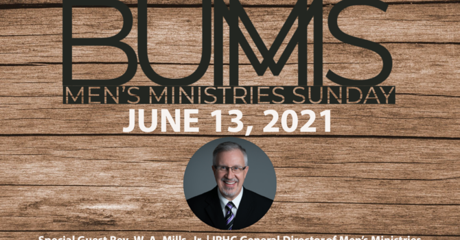 BUMS (Men's Ministries) Sunday