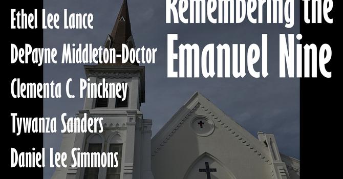 Commemoration of the Emanuel Nine image