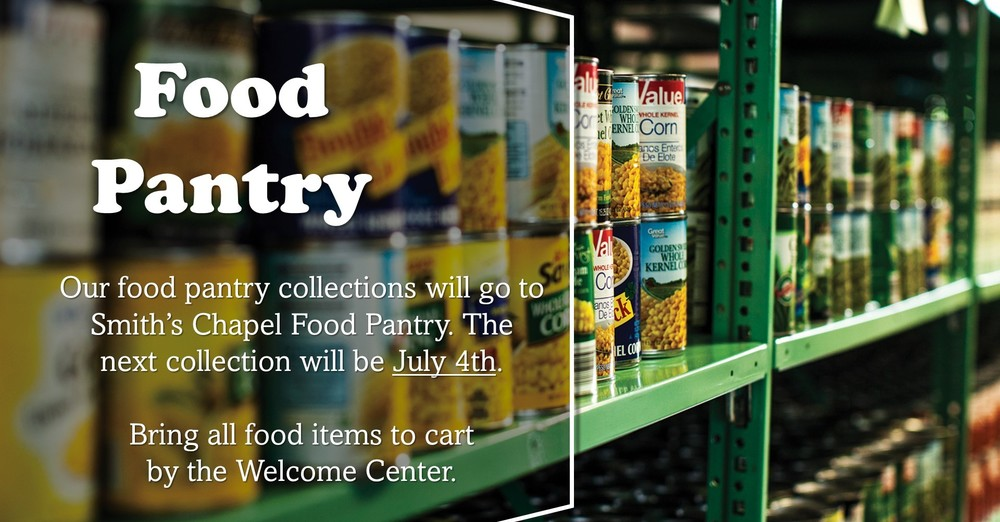 Food Pantry Collection First Sundays