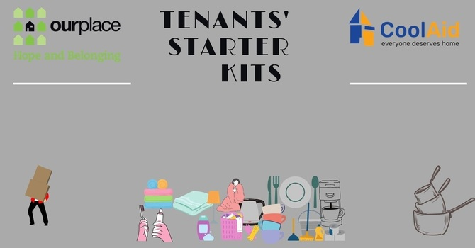 Our Place Society seeks contributions for tenants' starter kits