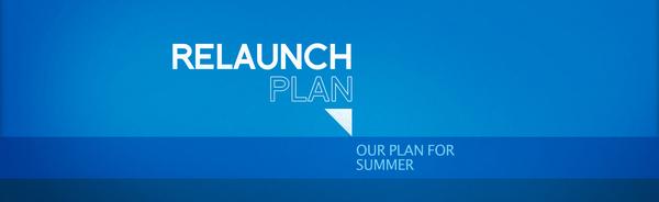 Church Relaunch & Summer Plans