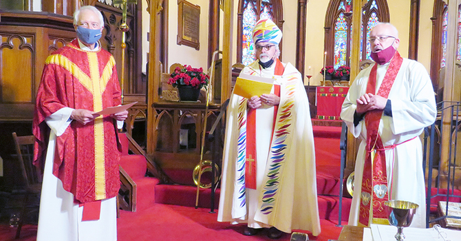 Bob Cheatley ordained a priest in St. Andrews image