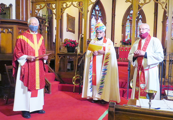 Bob Cheatley ordained a priest in St. Andrews