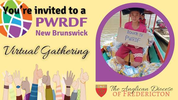 PWRDF online gathering