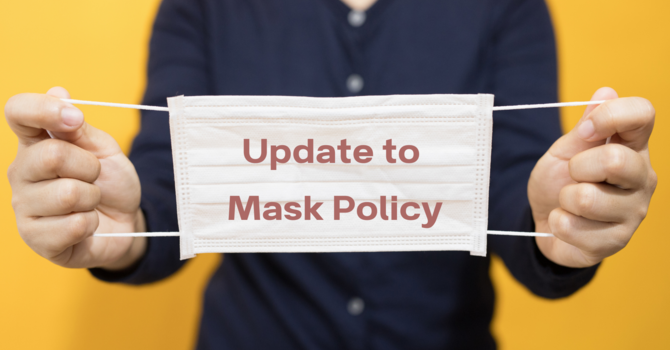 Update to Mask Policy image